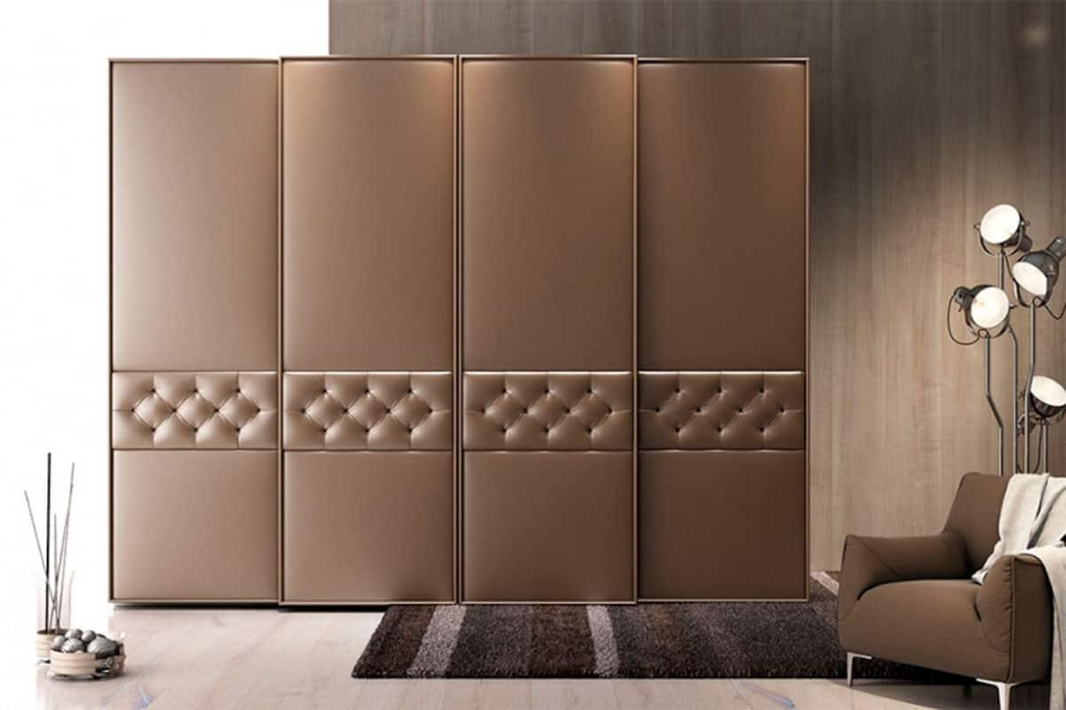 распределение нашло шкафы купе дизайн фасадов фото с эко кожей это будет вам