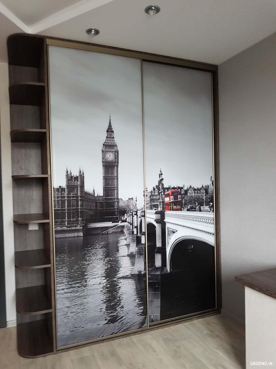 рисунок фотопечать на шкаф купе возьмите стеклянную банку
